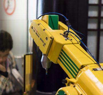 Compitiendo con robots